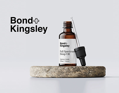 Bond & Kingsley Logo & Packaging Design