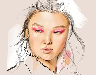 SS20 Makeup Trend -Free Floating Eyeliner