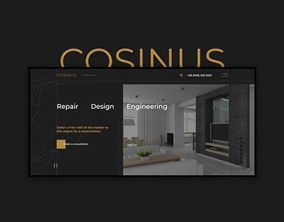 Interior design - Website