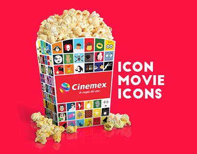 Movie Icons / Cinemex