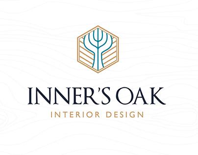 Inner'Oak - Interior design brand identity