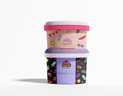 Packaging and Branding | Ice Cream | Tongue Twisters