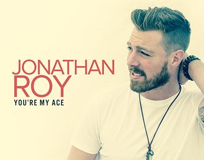 "Jonathan Roy ""You're My Ace"" Single Artwork"