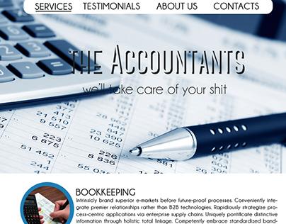 The Accountants - Portfolio (Mock up Template)