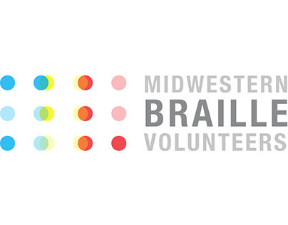 Midwest Braille Volunteers Logo