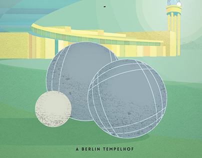 Pop Up Petanque at Tempelhof