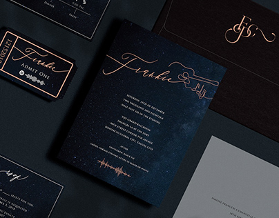Debut Invitation: Frankie Pangilinan
