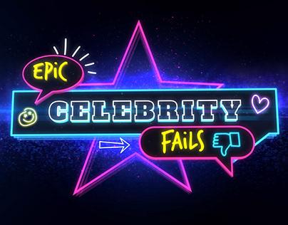 Epic Celebrity Fails Titles