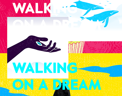 walking on a dream - poster