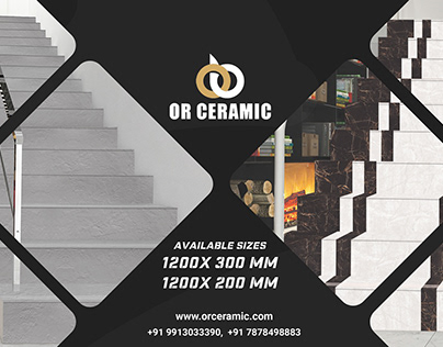 Online Stair Riser Tiles at Best Price | Tiles Dealers