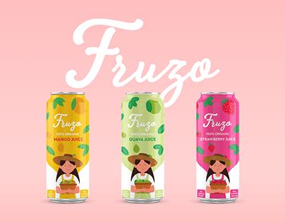 Fruzo - Juice Packaging Design