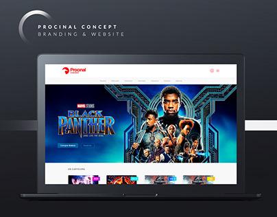 Procinal Cinemas   Website & Brand Concept