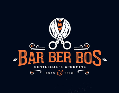 Barberbos Brand ID-entity