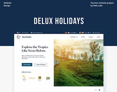 Redesign concept of Tourism Website
