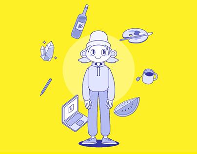 Hi, I'm Cami — Interactive site