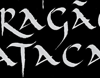 Calligraphy for São Jorge HQ