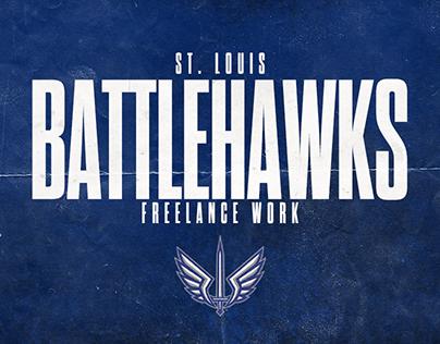 St. Louis BattleHawks Freelance Work