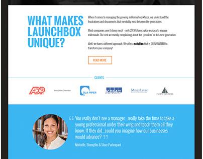 Launchbox 365 Website
