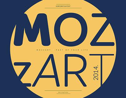 Mozzart Sans Font Family