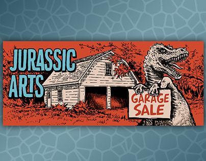 Jurassic Arts Garage Sale