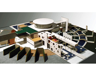 CALIFORNIA RESIDENCE-Maquette