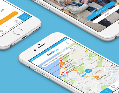 FlexDrive app | UX/UI
