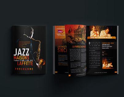 Festival Jazz à Maisons-Laffitte // Identité