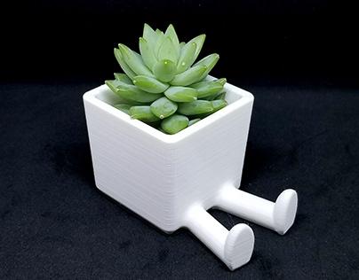 Leggy Planter / 3D printed planter