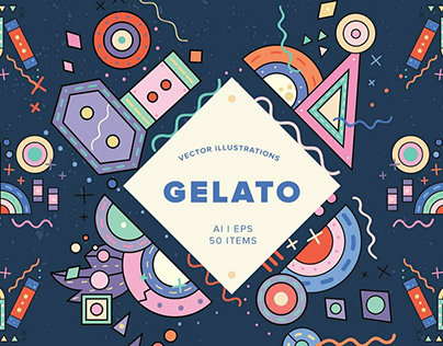 Gelato by YouWorkForThem Design Studio