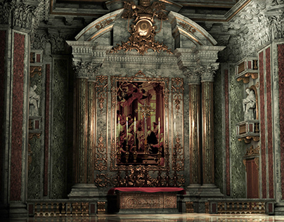 Basilica classic altar