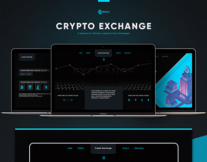 Cryptocurrency Exchange Homepage Options
