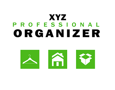 Logo Design for Professional Organizer
