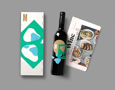 Mercana™. Wine Label Branding+Packaging.
