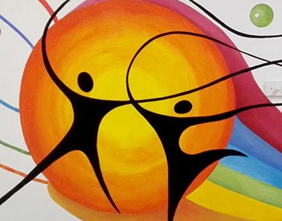 "Proyecto para ""La paz"" JÓVENES (Process paiting...)"