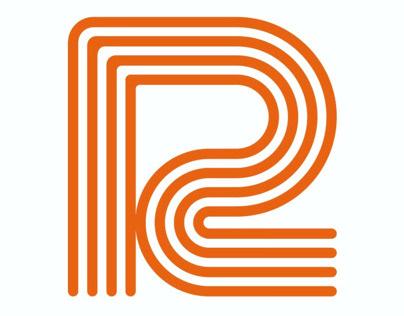 Draplin inspired 'R' logo. Just a bit of fun.