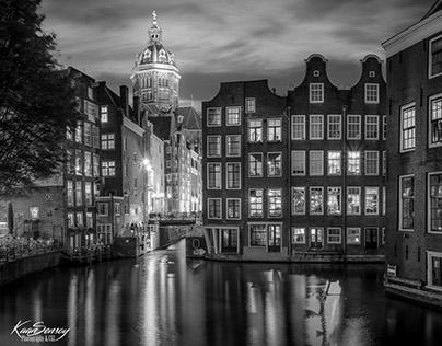 Black&White Autumn in Amsterdam
