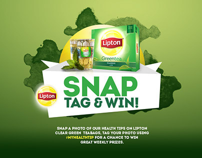 Lipton Snap Tag & Win.