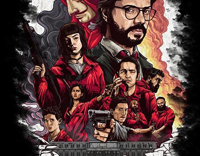 LA CASA DE PAPEL series poster