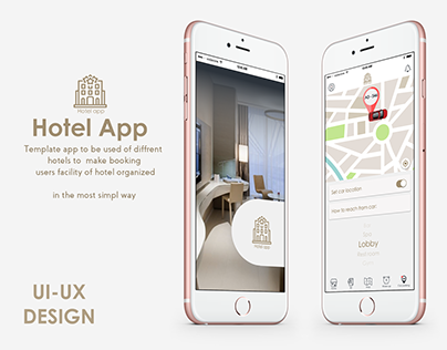template luxury app@