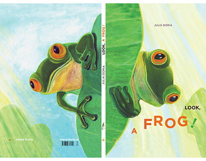 LOOK, A FROG! Picture-Book Illustration