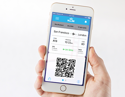 KLM Boarding Pass Concept (FREE Download)