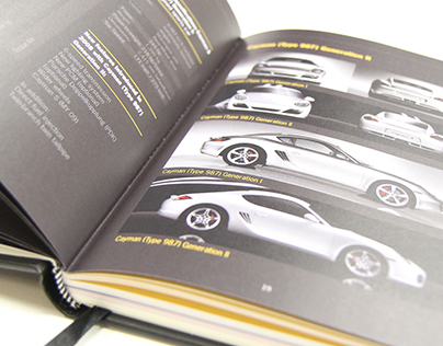 Porsche Event Workbook Diary