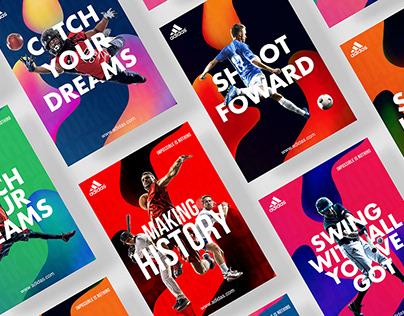 Adidas | Communication Visuals