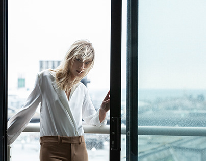 Reflection - fashion editorial