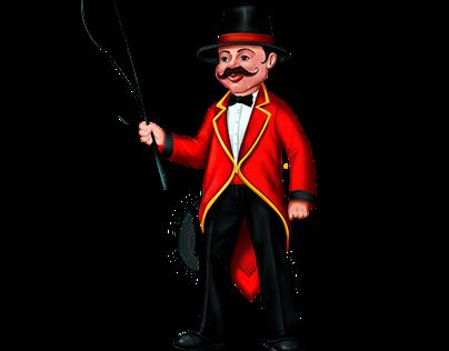 Circus - Skill Game Character - Ring Master