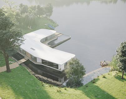 THE LAKE HOUSE - CGI Visualisation