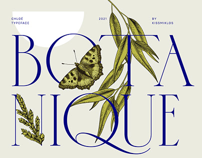Chloé typeface / 2021