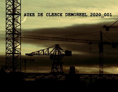Auke De Clerck DemoReel 2020