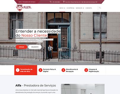 Criação de Site Multi Plataforma Responsivo