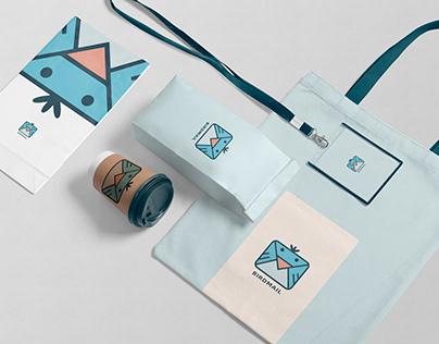 Logo, VI design - Birdmail